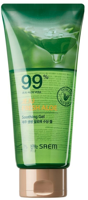 Univerzális aloe gél - The Saem Jeju Fresh Aloe Soothing Gel 99% (tubus)