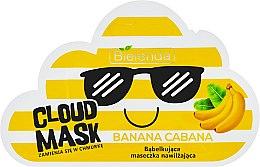 """Parfüm, Parfüméria, kozmetikum """"Banán"""" habzó maszk - Bielenda Cloud Mask Banana Cabana"""
