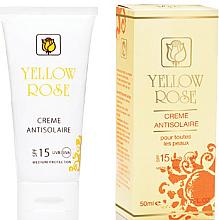 Parfüm, Parfüméria, kozmetikum Napvédő krém SPF15 - Yellow Rose Creme Antisolaire SPF 15