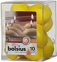 Parfüm, Parfüméria, kozmetikum Dekoratív gyertya készlet, sárga - Bolsius