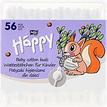 Parfüm, Parfüméria, kozmetikum Fültisztító pálcika, 56 db - Bella Baby Happy