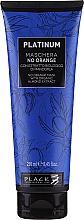 Parfüm, Parfüméria, kozmetikum Réz árnyalat neutralizáló hajmaszk - Black Professional Line Platinum No Orange Mask With Organic Almond Extract