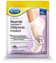 Parfüm, Parfüméria, kozmetikum Lábmaszk levendulaolajjal - Scholl Expert Care Foot Mask