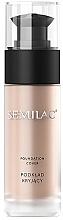 Parfüm, Parfüméria, kozmetikum Matt sminkalap - Semilac Foundation Cover