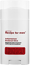 Parfüm, Parfüméria, kozmetikum Izzadásgátló - Recipe For Men Antiperspirant Deodorant Stick