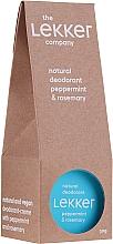 Parfüm, Parfüméria, kozmetikum Krém-izzadásgátló mentával és rozmaringgal - The Lekker Company Natural Deodorant