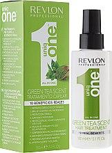 Parfüm, Parfüméria, kozmetikum Spray maszk hajra - Revlon Professional Uniq One Green Tea Scent Hair Treatment