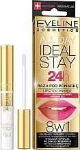 Parfüm, Parfüméria, kozmetikum Ajakbázis rúzs alá - Eveline Cosmetics All Day Ideal Stay Lipstick Primer