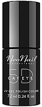 "Parfüm, Parfüméria, kozmetikum Gél-lakk ""Macskaszem 5D"", 7.2 ml - NeoNail Professional Cat Eye 5D Uv Gel Polish"
