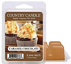 Parfüm, Parfüméria, kozmetikum Aroma viasz - Country Candle Caramel Chocolate Wax Melts