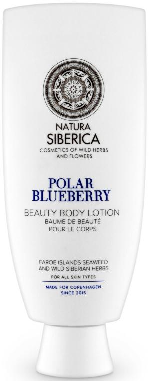 """""""Polar áfonya"""" testápoló - Natura Siberica Copenhagen Polar Blueberry Beauty Body Lotion"""