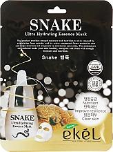 """Parfüm, Parfüméria, kozmetikum Szövetmaszk """"Botox hatás"""" - Ekel Snake Ultra Hydrating Essence Mask"""