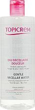 Parfüm, Parfüméria, kozmetikum Sminklemosó micellás víz - Topicrem Gentle Micellar Water Face & Eyes