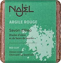 """Parfüm, Parfüméria, kozmetikum Aleppo szappan""""Vörös agyag"""" - Najel Aleppo Soap with Red Clay"""