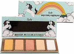 Parfüm, Parfüméria, kozmetikum Highlighter paletta - Rude Unicorn Fantasies