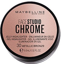 Parfüm, Parfüméria, kozmetikum Highlighter - Maybelline Face Studio Chrome Jelly Highlighter