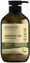 "Parfüm, Parfüméria, kozmetikum Testtej ""Kaktusz virág és avokádó"" - Ecolatier Urban Body Milk"