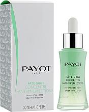 Parfüm, Parfüméria, kozmetikum Mattító arcszérum - Payot Pate Grise Concentre Anti-Imperfections