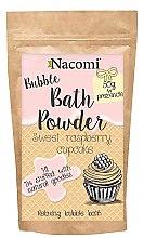 """Parfüm, Parfüméria, kozmetikum Fürdőpúder """"Édes málnakeksz"""" - Nacomi Sweet Raspberry Cupcake Bath Powder"""