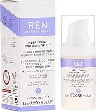 Parfüm, Parfüméria, kozmetikum Lifting szemkörnyékápoló, ragyogó hatás - Ren Keep Young And Beautiful