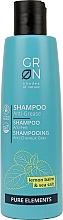 """Parfüm, Parfüméria, kozmetikum Sampon zsíros fejbőr ellen """"Citrom balzsam és tengeri só"""" - GRN Pure Elements Anti-Grease Shampoo"""