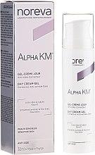 Parfüm, Parfüméria, kozmetikum Nappali ránctalanító krém-gél - Noreva Laboratoires Alpha KM Day Cream-Gel Anti-Wrinkle Care