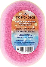 Parfüm, Parfüméria, kozmetikum Fürdőszivacs ovális 30468, színes - Top Choice