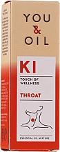 Parfüm, Parfüméria, kozmetikum Illóolaj keverék - You & Oil KI-Throat Touch Of Welness Essential Oil