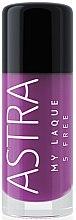 Parfüm, Parfüméria, kozmetikum Körömlakk - Astra Make-up My Laque 5 Free