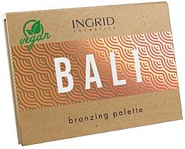 Parfüm, Parfüméria, kozmetikum Bronzosító paletta arcra - Ingrid Cosmetics Bali Bronzing Palette
