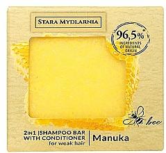 Parfüm, Parfüméria, kozmetikum Szilárd sampon-kondicionáló - Stara Mydlarnia Manuka Honey 2in1 Shampoo Bar