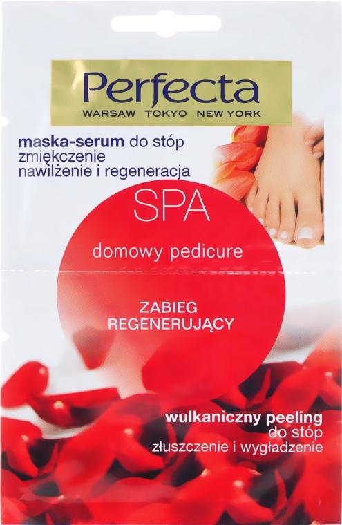Lábpuhító lábszérum-maszk - Perfecta Spa Foot Peeling