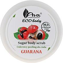 """Parfüm, Parfüméria, kozmetikum Testradír """"Guarana"""" - Ava Laboratorium Eco Body Natural Sugar Scrub Guarana"""
