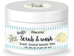 """Parfüm, Parfüméria, kozmetikum Peeling mosakodó hab """"Kókusz banán"""" - Nacomi Scrub and Wash Sweet Coconut-Banana Foam"""
