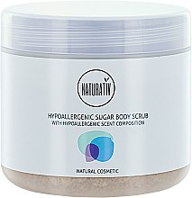 Parfüm, Parfüméria, kozmetikum Cukros peeling testre - Naturativ Hypoallergenic Body Sugar Scrub