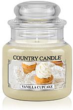 """Parfüm, Parfüméria, kozmetikum Illatgyertya """"Vanília cupcake"""" üvegben - Country Candle Vanilla Cupcake"""