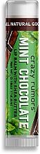 Parfüm, Parfüméria, kozmetikum Ajakápoló balzsam - Crazy Rumors Mint Chocolate Lip Balm
