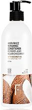 Parfüm, Parfüméria, kozmetikum Helyreállító kondicionáló hajra - Freshly Cosmetics Anti Frizz Repairing Conditioner