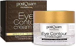 Parfüm, Parfüméria, kozmetikum Szemkörnyékápoló krém-gél - PostQuam Eye Contour Cream Gel