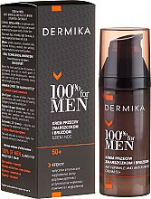 Parfüm, Parfüméria, kozmetikum Mély ráncok elleni krém - Dermika Anti-Wrinkle And Anti-Furrow Cream 50+