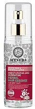Parfüm, Parfüméria, kozmetikum Esszencia hajra - Natura Siberica Iceveda Arctic Rose&Maharaja Lotus Moisturizing and Hydrating Herbal Hair Essence