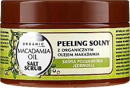 Parfüm, Parfüméria, kozmetikum Só peeling makadámia olajjal - GlySkinCare Macadamia Oil Salt Scrub