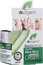 Parfüm, Parfüméria, kozmetikum Kontentrált aloe vera krém - Dr.Organic Bioactive Skincare Aloe Vera Concentrated Cream