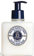 Parfüm, Parfüméria, kozmetikum Ultra tápláláló kéz és testápoló hab - L'occitane Shea Butter Ultra Rich Hand & Body Wash