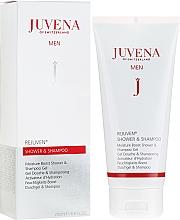 Parfüm, Parfüméria, kozmetikum Sampon és tusfürdő - Juvena Rejuven Men Moisture Boost Shower & Shampoo Gel