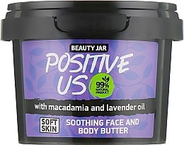 "Parfüm, Parfüméria, kozmetikum Testvaj ""Positive Us"" - Beauty Jar Soothing Face And Body Butter"
