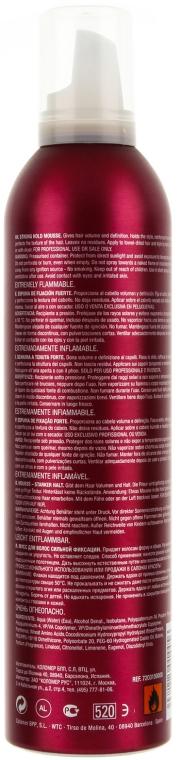 Hajhab ultra erős fixáló hatással - Revlon Professional Pro You Extra Strong Hair Mousse Extreme — fotó N2