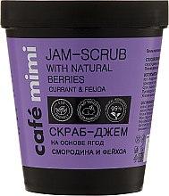 """Parfüm, Parfüméria, kozmetikum Testradír """"Ribiszke és a Feijoa"""" - Cafe Mimi Jam-Scrub With Natural Berries"""