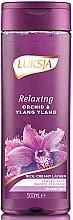 Parfüm, Parfüméria, kozmetikum Tusfürdő - Luksja Relaxing Orchid & Ylang Ylang Shower Gel