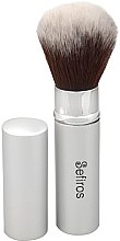 Parfüm, Parfüméria, kozmetikum Sminkecset - Sefiros Silver Retractable Brush